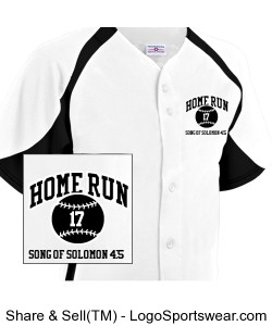Youth Clutch Full button Baseball Jersey Design Zoom